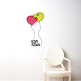 Love is in the Air Wall Decal Wall Decal