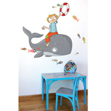 Flying Fish Wall Decal Wall Decal