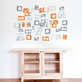 Lek (orange) Wall Decal Wall Decal