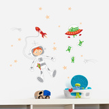 Journey into the Space Wall Decal Wall Decal