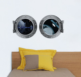 Port-Hole Wall Decal Wall Decal