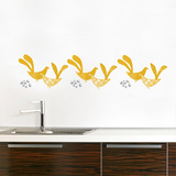 Kvitt (mustard) Wall Decal Wall Decal