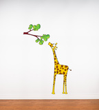 Madam Giraffe Wall Decal Wall Decal
