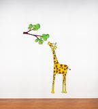 Madam Giraffe Wall Decal Wall Decal