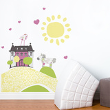My Little Mansion Wall Decal Wall Decal