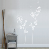 White Pollen Wall Decal Wall Decal