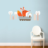 Paolo goes Boating Wall Decal Wall Decal