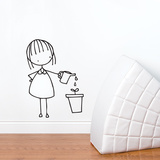 Drops of Love Wall Decal Wall Decal
