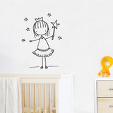Little Fairy Wall Decal Wall Decal