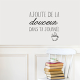 Ajoute de la douceur FR Wall Decal Wall Decal