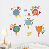 Planets Wall Decal Wall Decal