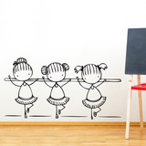 Ballet Class Wall Decal Wall Decal