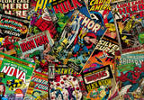 Marvel Desk Mat Fleece-Decke