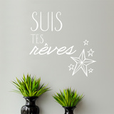 Suis tes rs FR Wall Decal Wall Decal