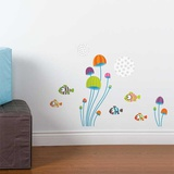 Mini Fish Wall Decal Wall Decal