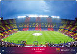 Barcelona Camp No Desk Mat Desk Mat