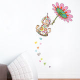 Violette Takes Flight Wall Decal Wall Decal