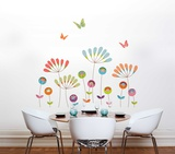 Colourful Pompoms Wall Decal Wall Decal