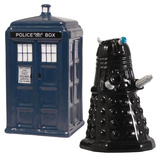 Doctor Who Tardis Salt & Pepper Novelty
