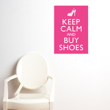 Buy shoes Wall Decal Vinilo decorativo