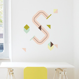 S Letter Wall Decal Wall Decal