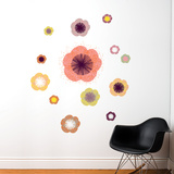 Solstice Flowers Wall Decal Wall Decal