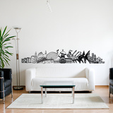 Into Montreal Wall Decal Wall Decal
