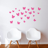 Minna (pink) Wall Decal Wall Decal