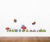 Mice and Ladybugs Wall Decal Wall Decal