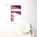 F Letter Wall Decal Wall Decal