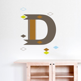 D Letter Wall Decal Wall Decal