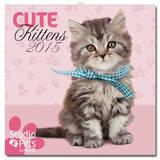 Cute Kittens 2015 Wall Calendar Calendriers