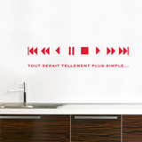 Avance rapide Wall Decal Wall Decal