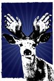 Texas Rangers Antlers Sports Prints
