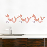 Kvitt (salmon) Wall Decal Wall Decal
