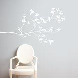 Birds & Buds Wall Decal Wall Decal