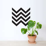 Black Chevron Wall Decal Wall Decal
