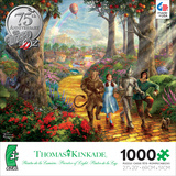 Thomas Kinkade Warner Brothers - Follow The Yellow Brick Road 1000 Piece Jigsaw Puzzle Jigsaw Puzzle