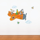 Friends in Flight Wall Decal Wall Decal