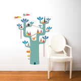 Village in the Tree Wall Decal Wall Decal