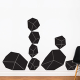 Crystals Wall Decal Wall Decal