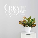 Create EN Wall Decal Wall Decal