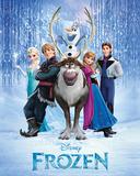 Frozen - Cast Plakater