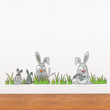 Rabbits Wall Decal Wall Decal