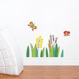 Butterflies in the Grass Wall Decal Wall Decal