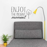 Enjoy the Present EN Wall Decal Wall Decal