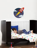 rocket hike Wall Decal Wall Decal