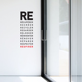 Respirer Wall Decal Wall Decal