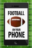 Football On Your Phone Humor Prints