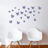 Minna (plum) Wall Decal Wall Decal